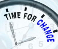 Time For Change Means Different Strategy Or Vary