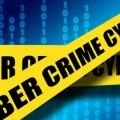 Yellow tape saying cyber crime