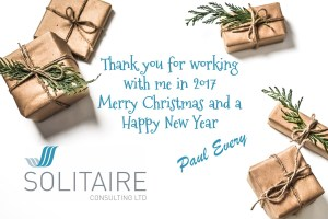 Seasons Greetings from Solitaire Consulting