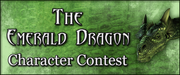 The Emerald Dragon Character Contest Winners