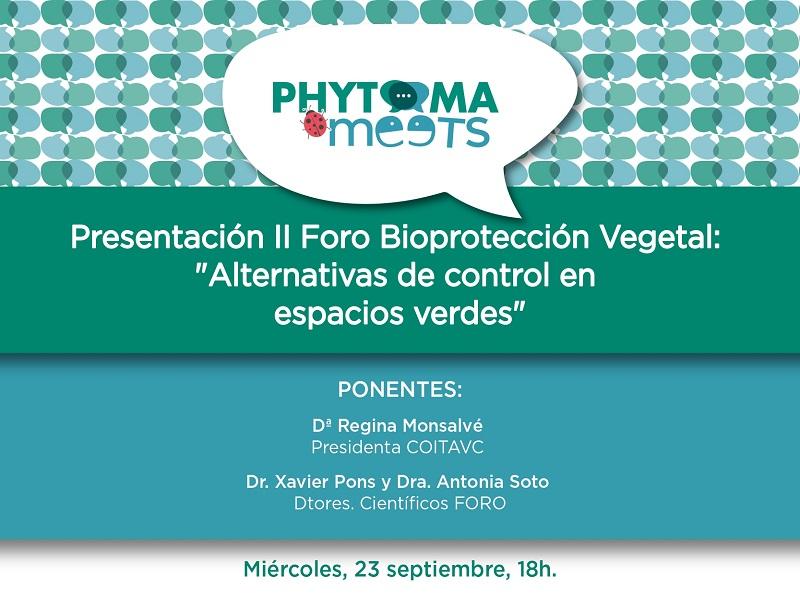 II Foro de BioProtección Vegetal