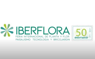IBERFLORA celebra su 50 Aniversario, y ¡allí estaremos! (5 al 7 de octubre 2021)