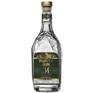 PURITY CRAFT NORDIC DRY GIN 43% ØKO PURITY GIN - 70CL