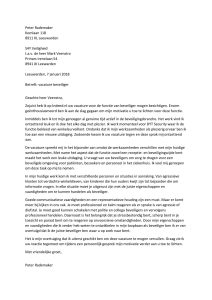motivatiebrief beveiliger Sollicitatiebrief Beveiliger   Sollicitatiebijbel.nl motivatiebrief beveiliger