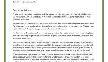 motivatiebrief voor vakkenvuller Sollicitatiebrief Vakkenvuller | Werken In Een Supermarkt? Check