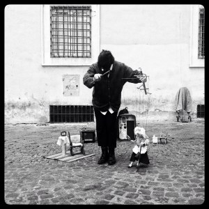 puppeteer and marionette in Rome