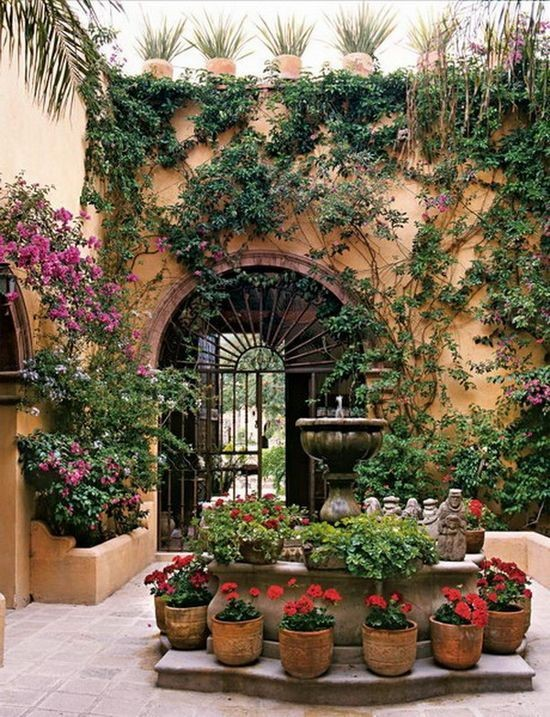 Yard Décor: the Beauty of a Mexican Water Fountain ... on Mexican Backyard Decor  id=27572