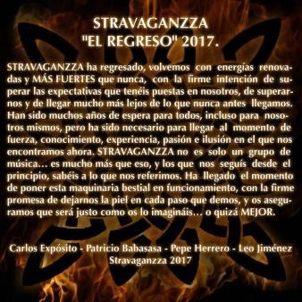 Stravaganzza 'El regreso' 2017