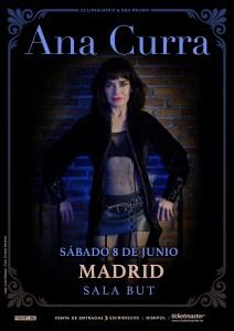 Ana Curra - 8 de Junio en Madrid: COMPRAR ENTRADAS