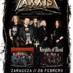 AXXIS + REGRESIÓN + KNIGHTS OF BLOOD GIRA ESPAÑOLA
