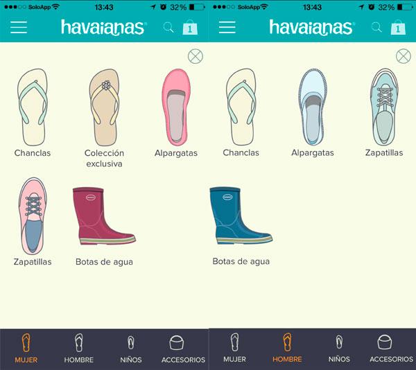 1f4d37ed6 Havaianas  La App de las Chanclas Brasileñas se Actualiza
