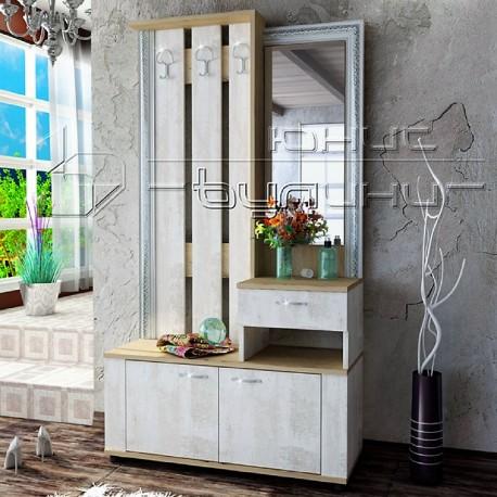 Le caratteristiche che più distinguono lo stile nordico sono il bianco e il legno naturale. Mobile Ingresso Moderno Con Specchio E Appendiabiti Modello Mira Solo Arredo Tutto Per Il Tuo Arredo