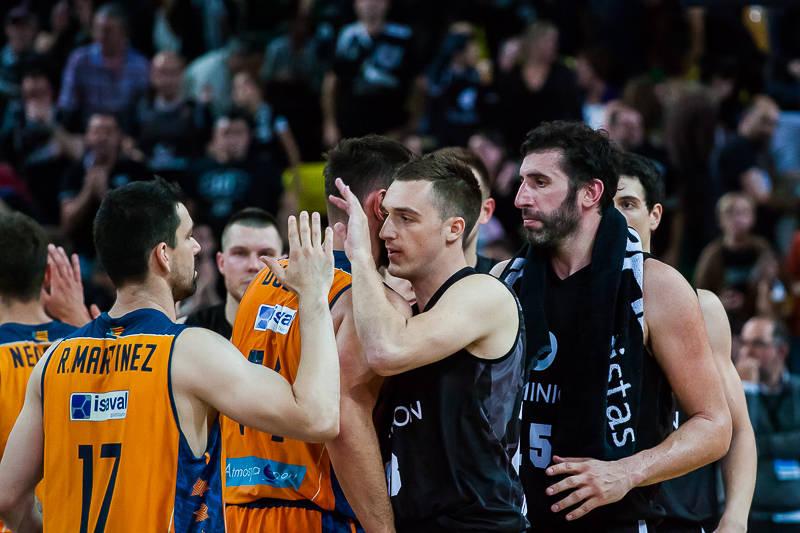 Resultado de imagen de valencia vs bilbao basket