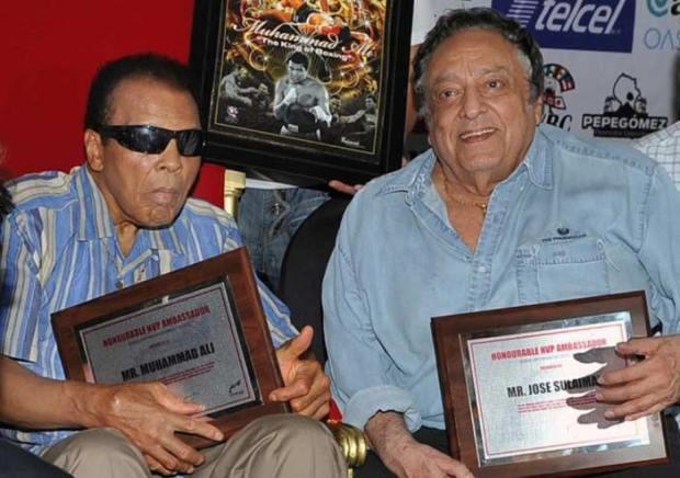 Muhammad Ali y  José Sulaimán
