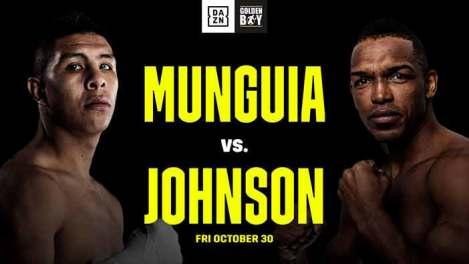 Jaime Munguia vs Tureano Johnson el viernes 30 de octubre en DAZN | Solo  Boxeo