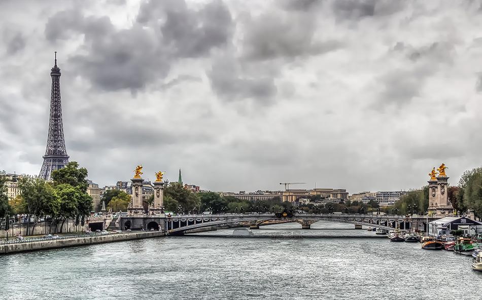 Puente de París Torre Eiffel 2M