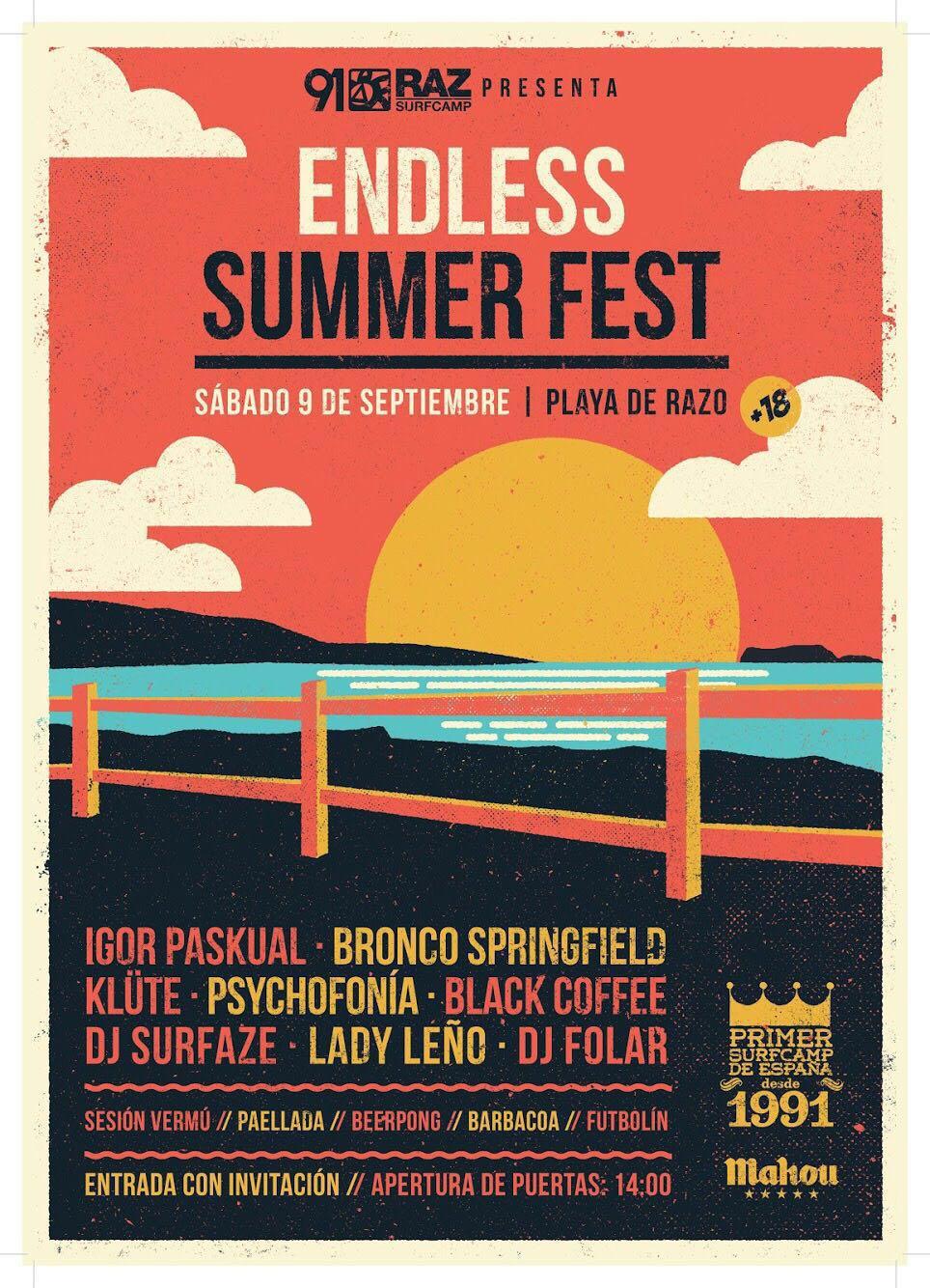 CARTEL ENDLESS SUMMER FEST