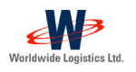 Worldwide Logistics logo on Sologistx website