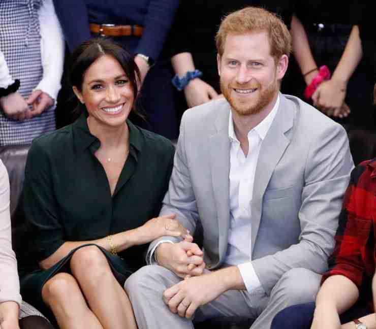 Harry e Meghan Lilibet Diana