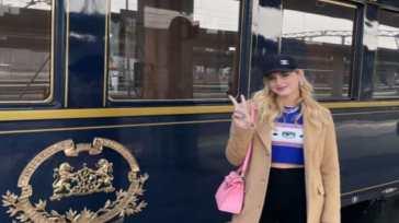 Chiara Ferragni, da Venezia a Parigi sull'Orient Express: quanto costa viaggiare sul treno di lusso?