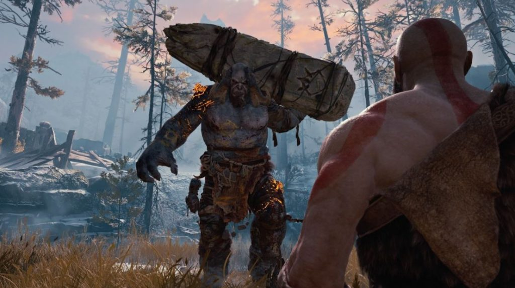 God-of-War-2018-Reseña-PS4-combate-contra-primer-jefe-troll-e3-2016