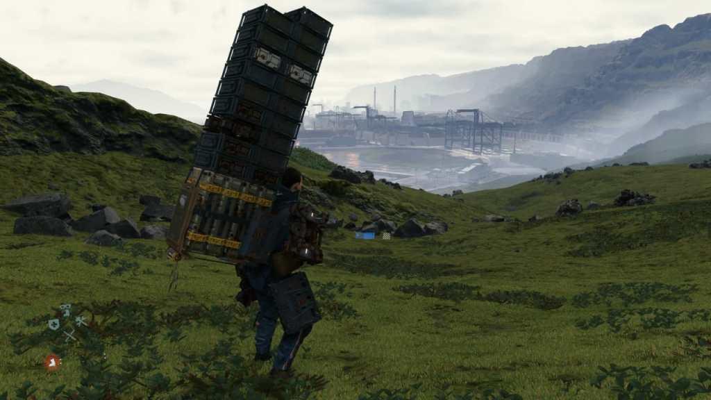 Death stranding cargador delivery