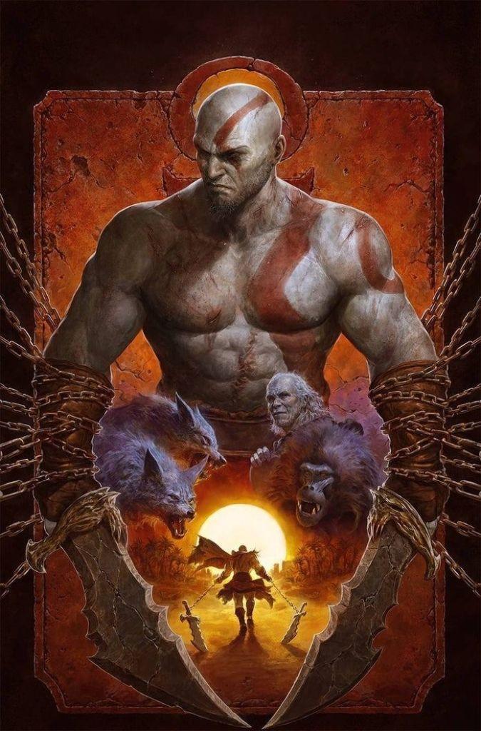 God-of-war-fallen-god-comic-fecha-de-lanzamiento