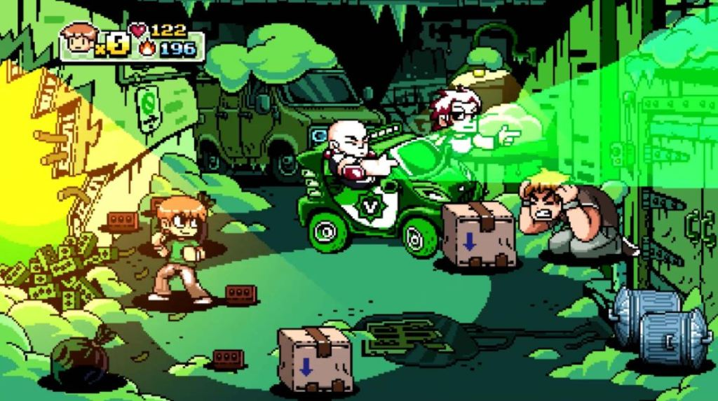 Scott-Pilgrim-videojuego-referencias-screenshots-menu
