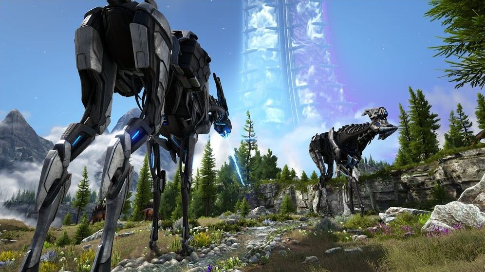 ARK-Survival-Evolved-como-tamear-un-Tek-Stryder-screenshots
