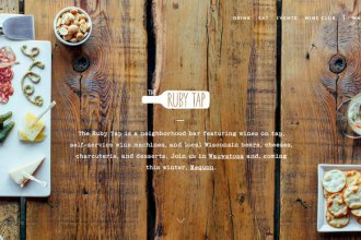 diseño web the rugby tap