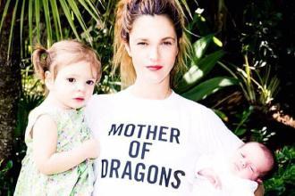 Drew Barrymore tiene su segunda hija