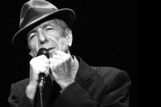 Cantautor Leonard Cohen