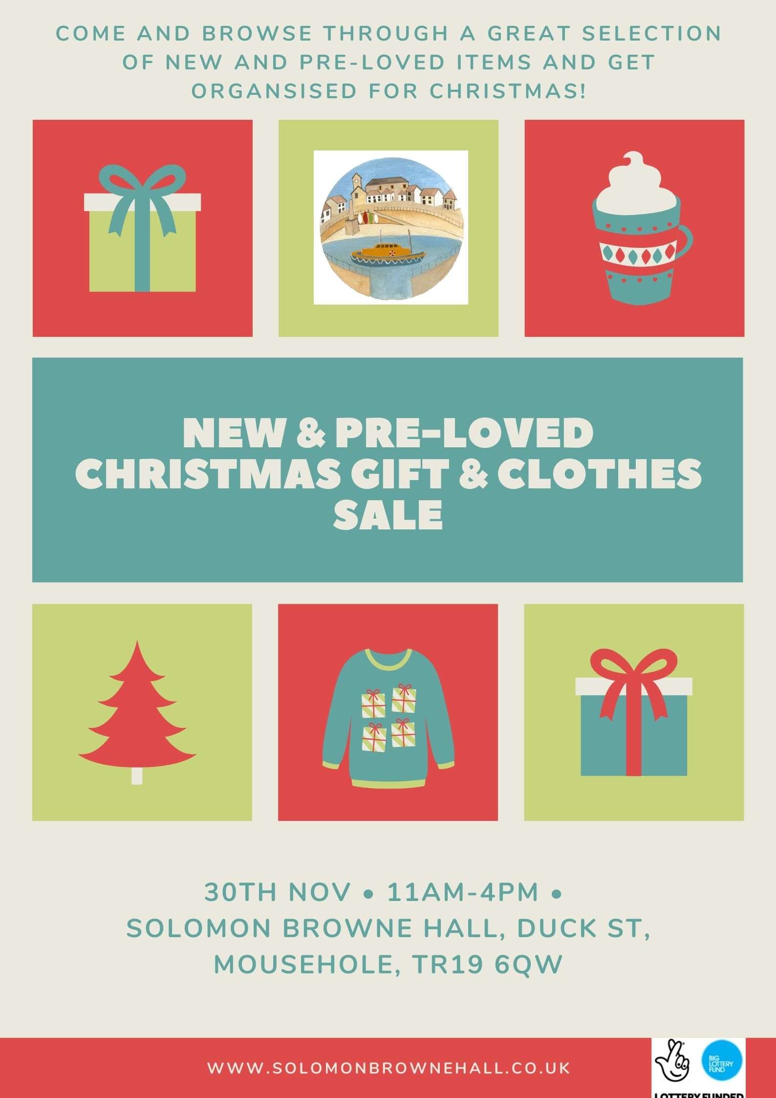 New and Pre-Loved Christmas Gift and Clothes Sale