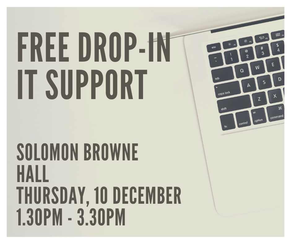 Free drop-in IT support