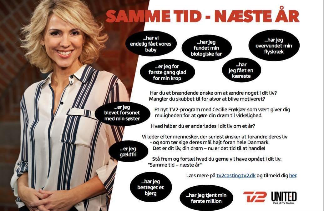 TV2 Program med Cecilie Frøkjær søger kommende solomødre