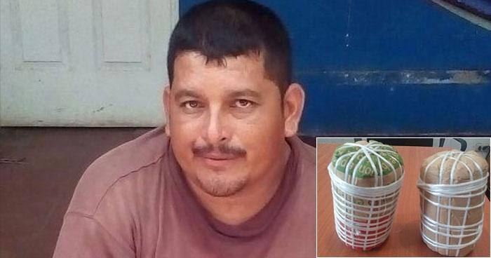 Capturan a pescador en Usulután por usar bombas de clorato para pescar
