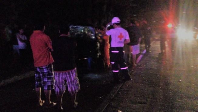 Dos fallecidos en accidente de transito en Bulevar Monseñor Romero
