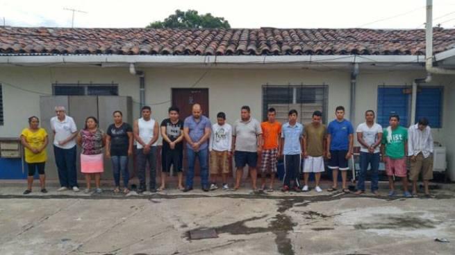 Autoridades detienen a 18 personas por diversos delitos en San Vicente