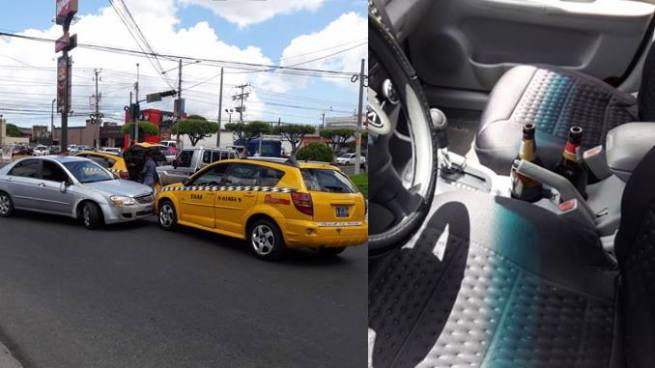 Conductor en estado de ebriedad causa múltiple accidente y es dejado en libertad por policías