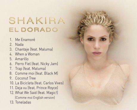 Shakira anuncia la fecha de la publicación de su nuevo disco