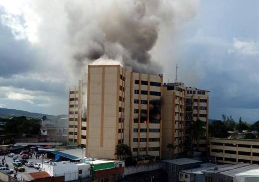 Muere la segunda víctima del incendio del Ministerio de Hacienda