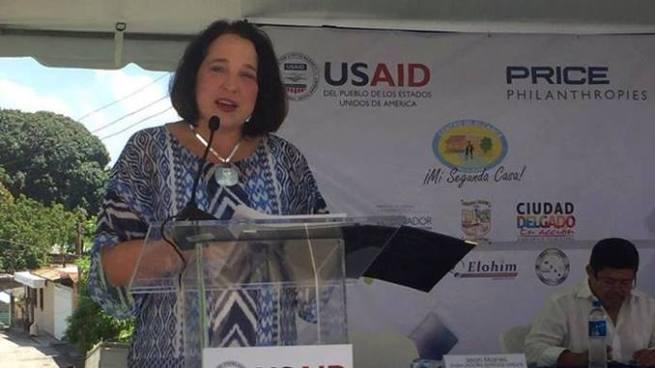 Embajadora advierte que ayuda de EE.UU a El Salvador esta en riesgo