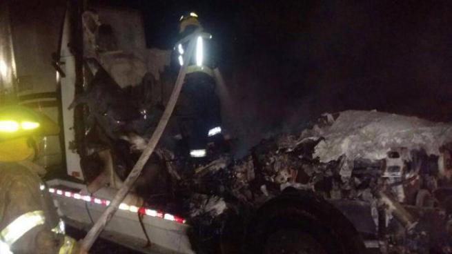 Hombre resultó gravemente quemado luego que se incendiara en Santa Ana