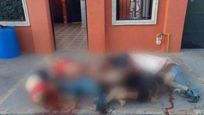 Abandonan nueve cuerpos junto con un mensaje en Nuevo Laredo, México