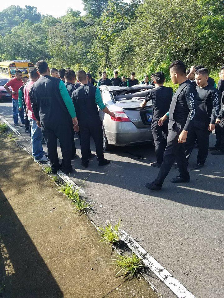 Accidente de tránsito en Huizúcar.