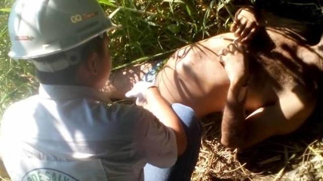 Recuperan el cadáver de un hombre en la laguna de Chanmico, La Libertad