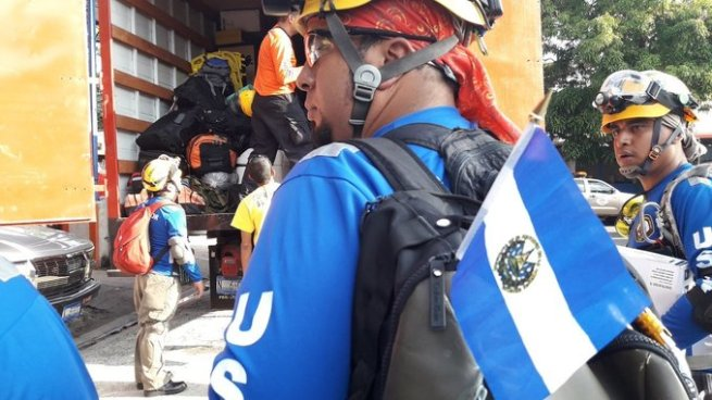 Grupo USAR El Salvador viajara a México para apoyar labores humanitarias