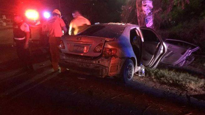 Al menos 6 personas gravemente lesionadas tras accidente de tránsito en Usulután