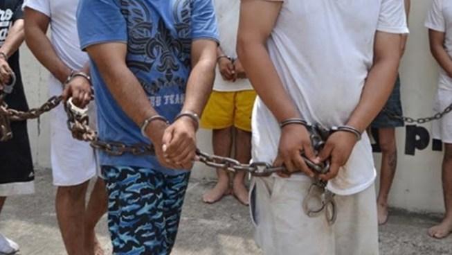 A prisión 34 pandilleros capturados en Operación Escudo Regional
