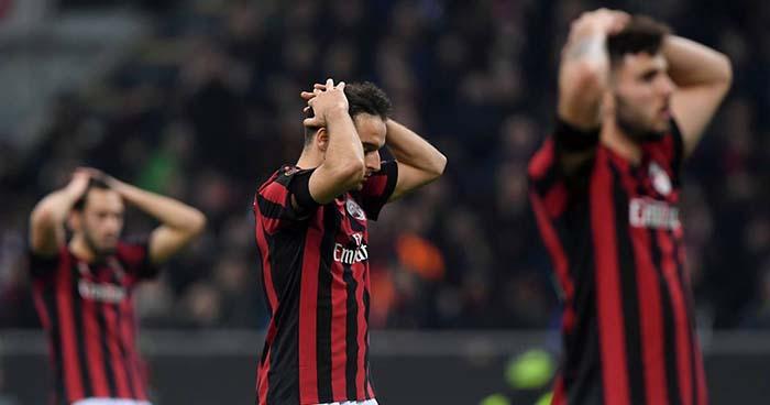 UEFA excluye al AC Milan de participar en competiciones europeas